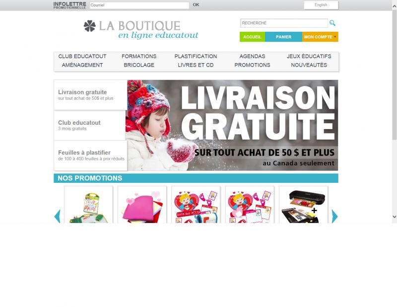La boutique educatout