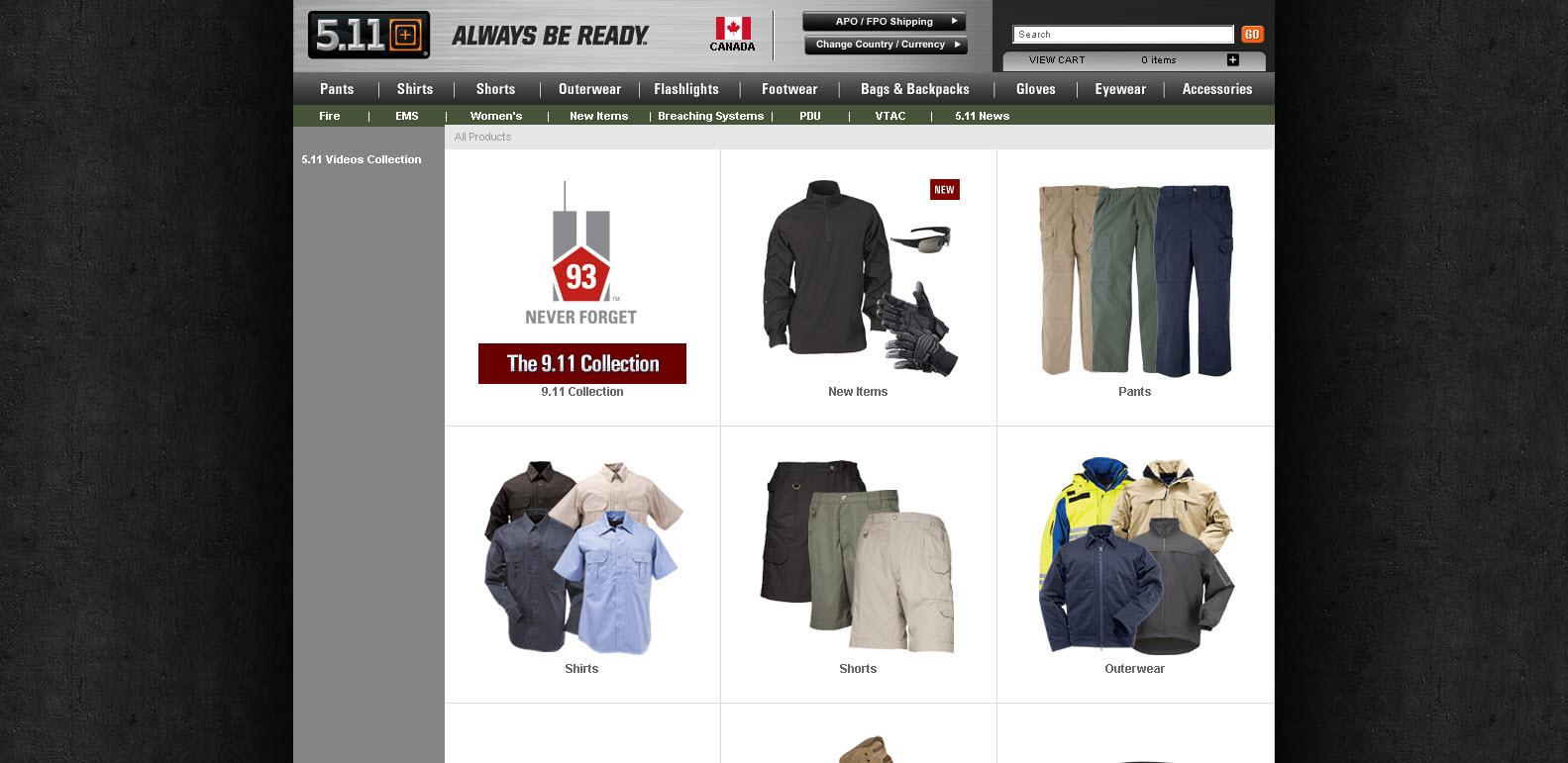 5.11 tactical - vêtements d'armée
