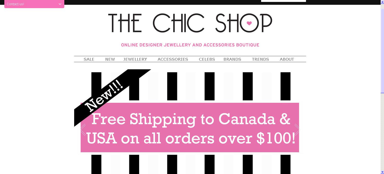 The Chic Shop - Bijoux et accessoires