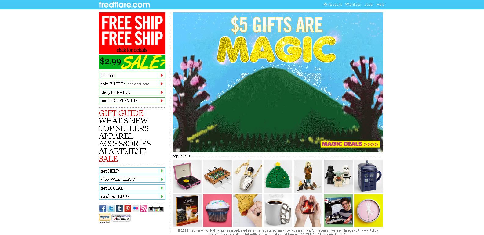 FredFlare.com - Cadeaux et Objets Uniques