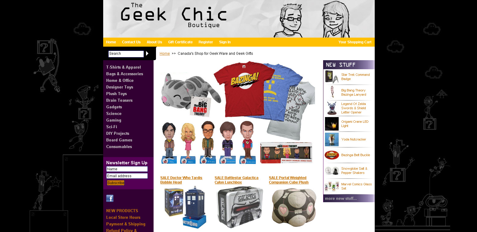 Geek Chic boutique