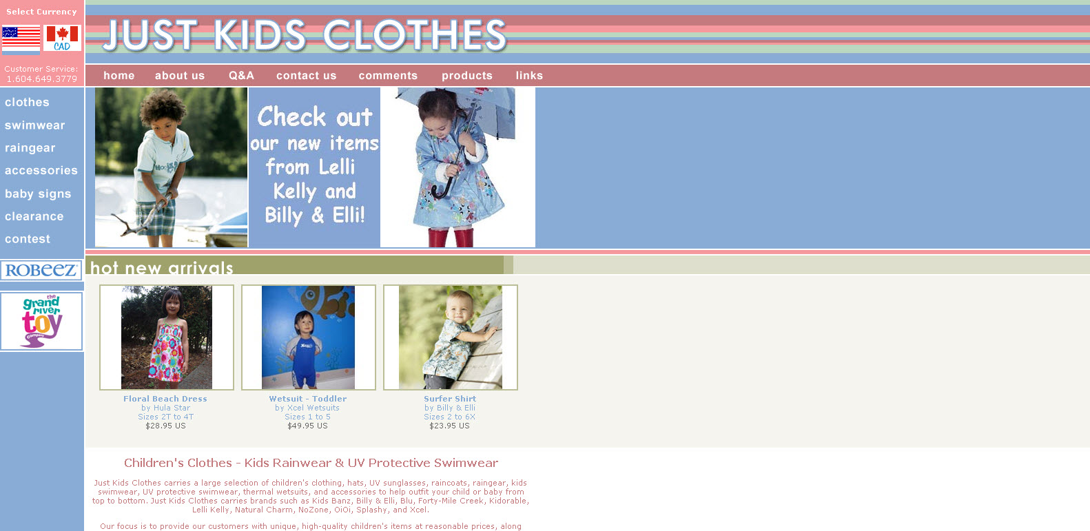 Just Kids Clothes