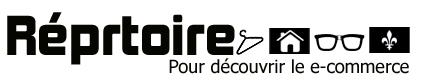 Réprtoire.ca : Répertoire de boutiques en ligne pour les québécois et le Québec