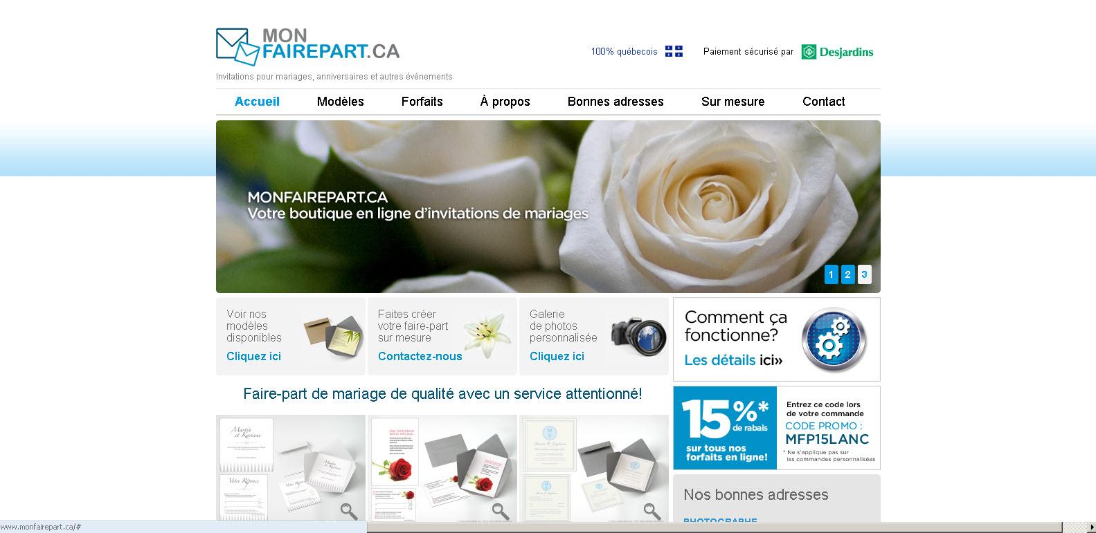 Monfairepart.ca