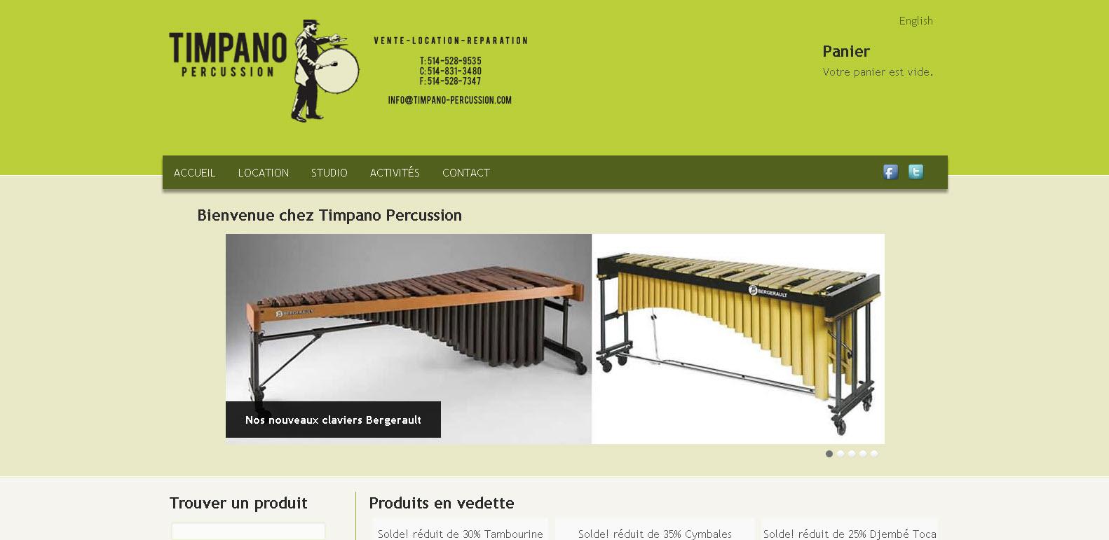 Timpano Percussion