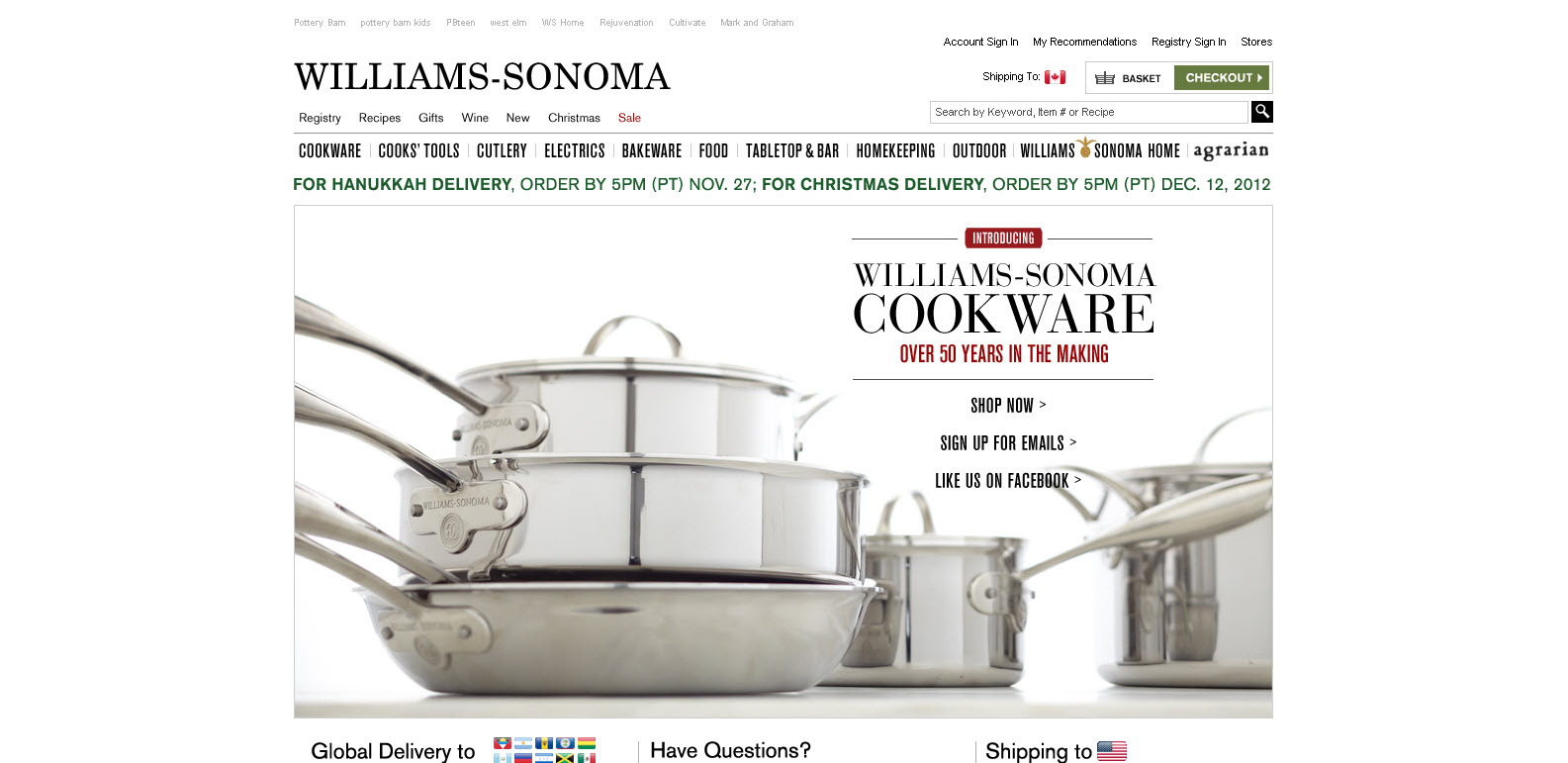 Williams-Sonoma - Cuisine