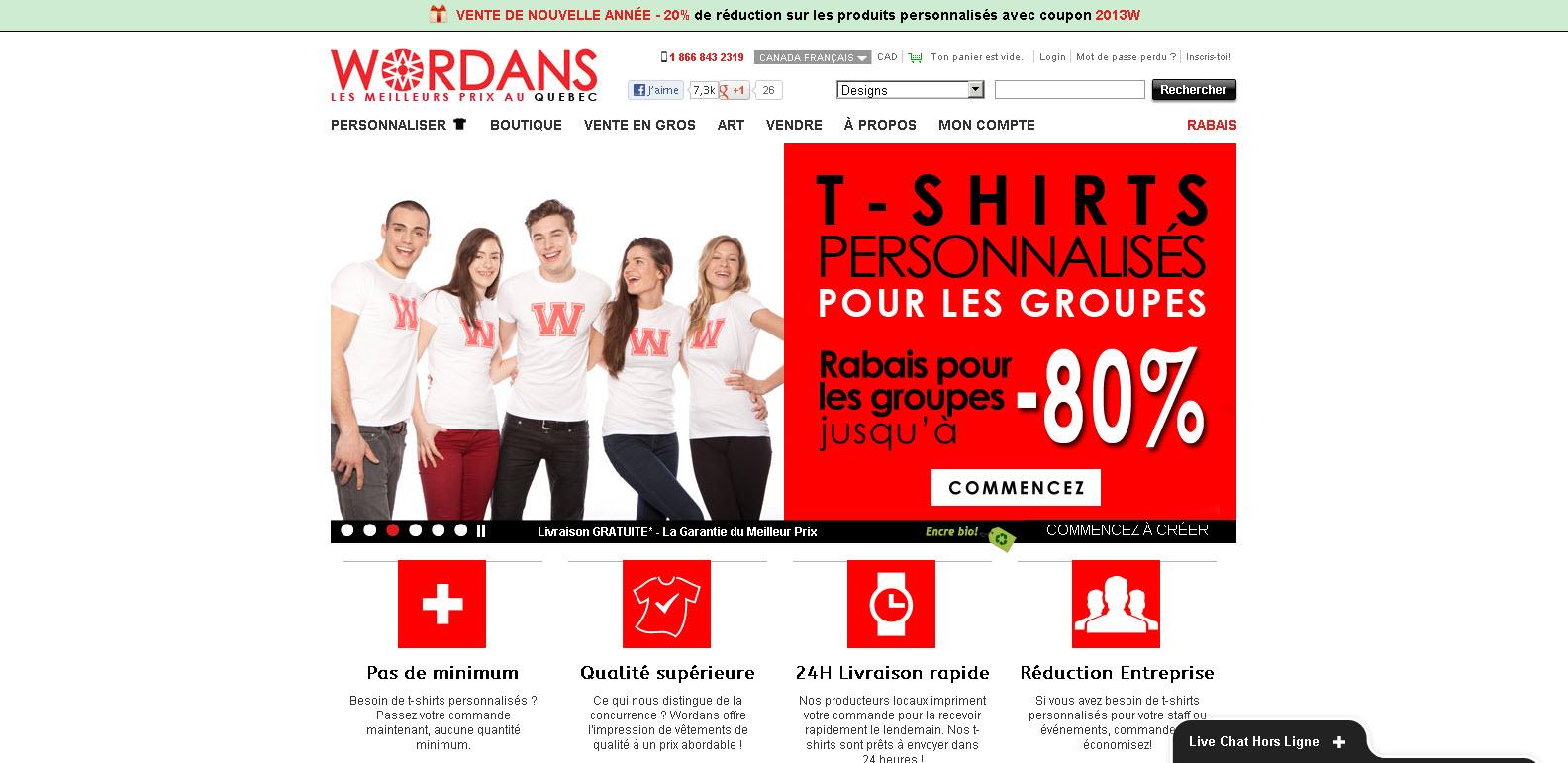 Wordans - T-Shirts